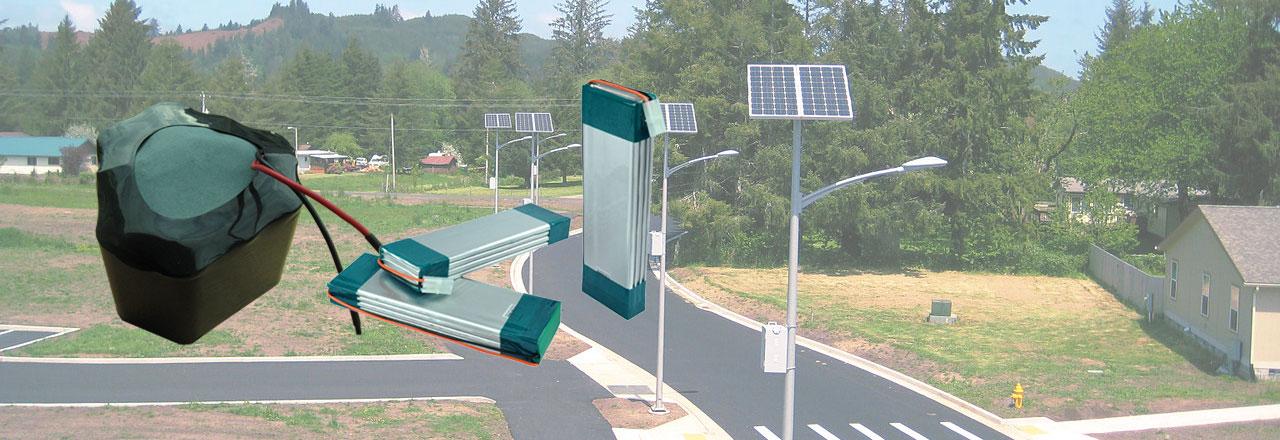 Solar Energy Battery Pack